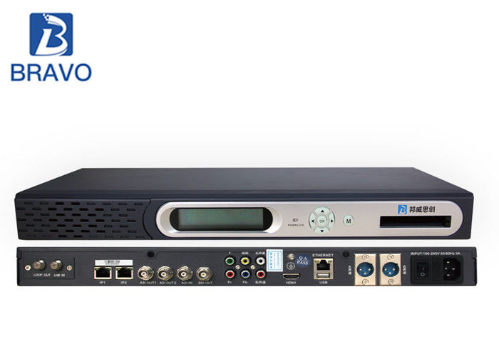 Powerful Head End Processor MPEG - 2 Commercial Fully Featured Unit For General Purpose