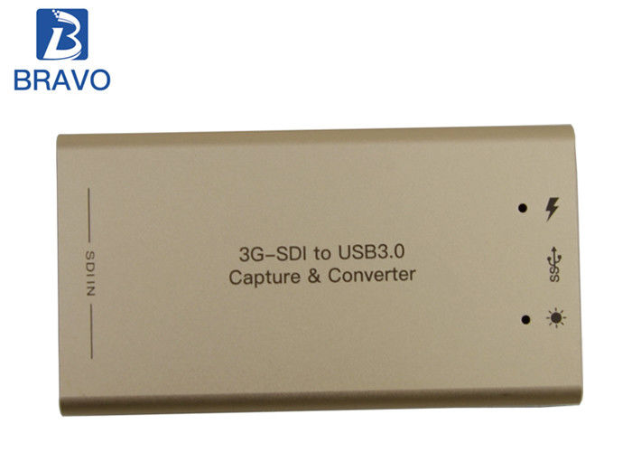 Portable Real Time USB Video Capture Box SD / HD Suitable For Video Conference